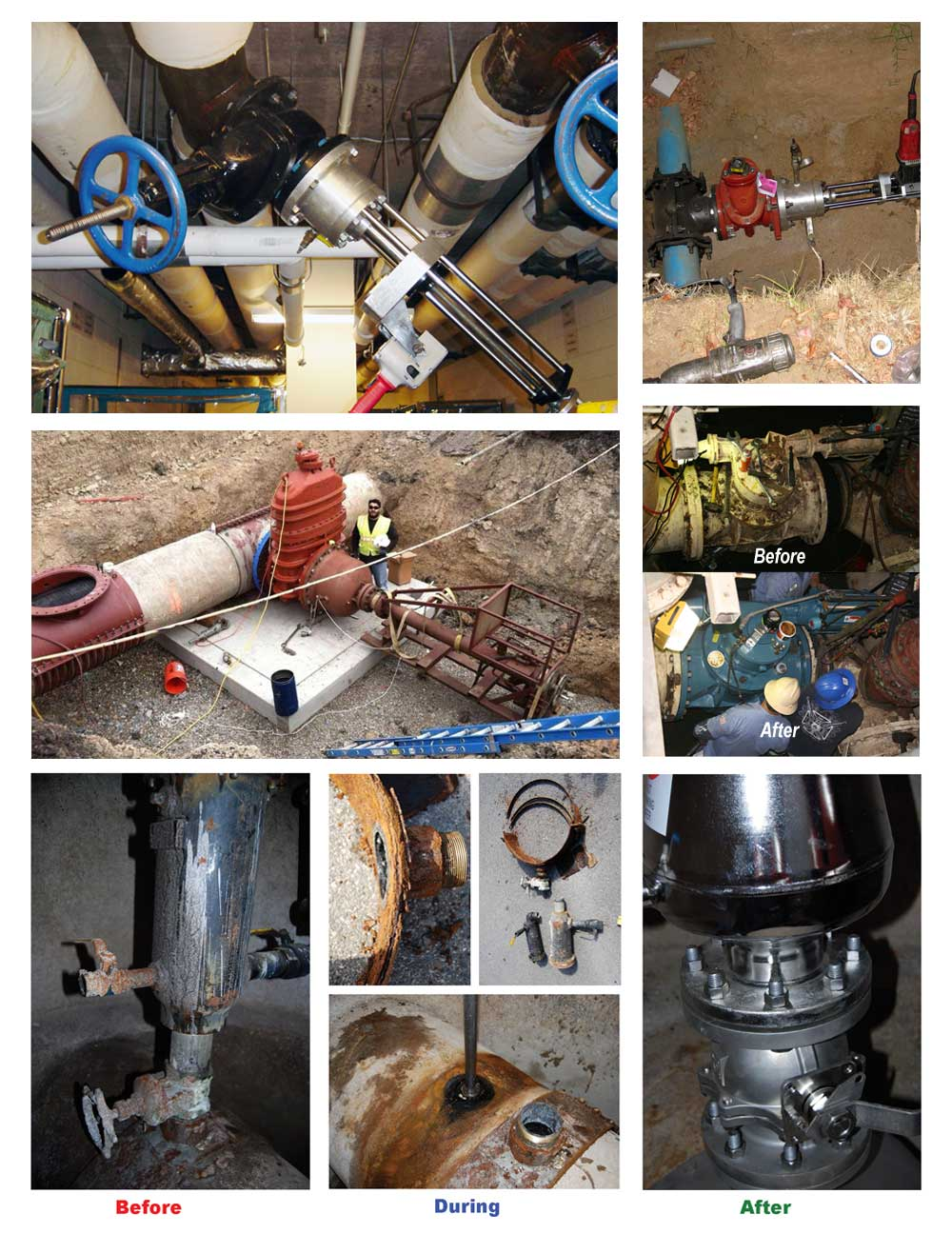 Pipe Freeze Plug Services